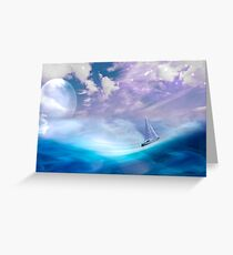 All at Sea Greeting Card