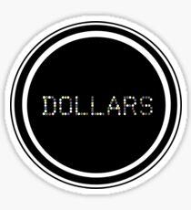 Durarara!! Dollars Logo Sticker