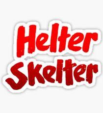 Helter skelter Charles MansonT-Shirt Sticker