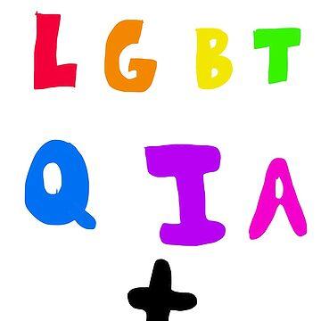 LGBTQIA+ Rainbow by BabyRainicorn
