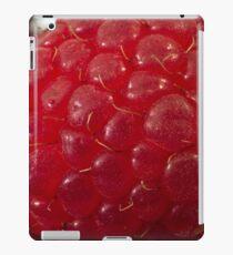 Raspberry Macro iPad Case/Skin
