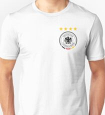 Germany Soccer European Football Crest T-Shirt