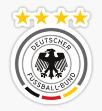 Germany Soccer European Football Crest Sticker