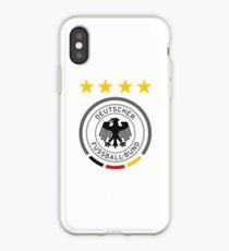 Germany Soccer European Football Crest iPhone Case