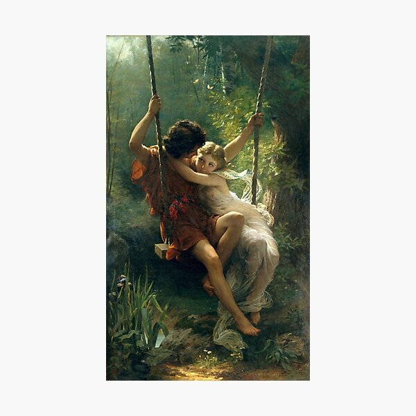 Springtime, by  Pierre Auguste Cot. Photographic Print