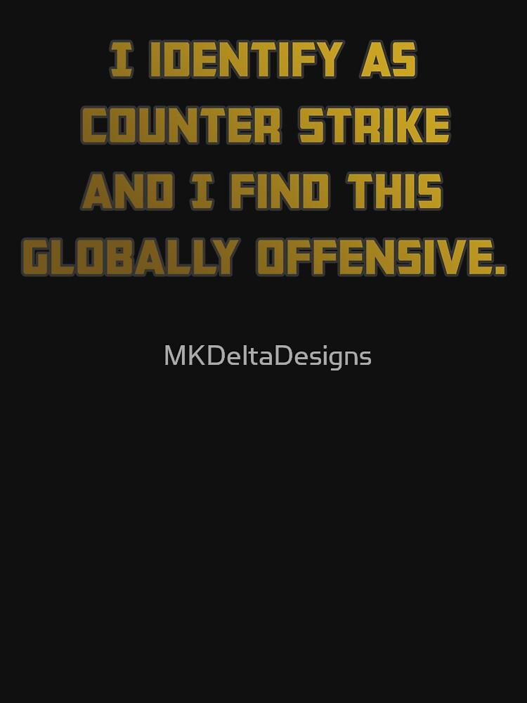 Counter Strike Globally Offensive de MKDeltaDesigns