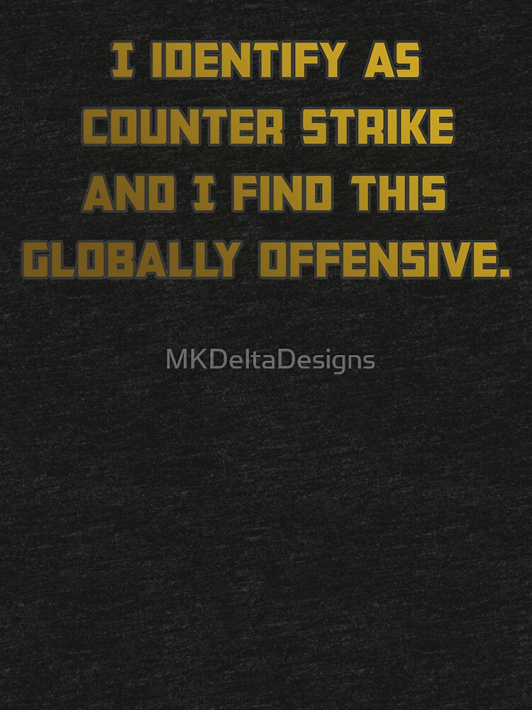 Counter Strike Globally Offensive de MKDeltaDesigns