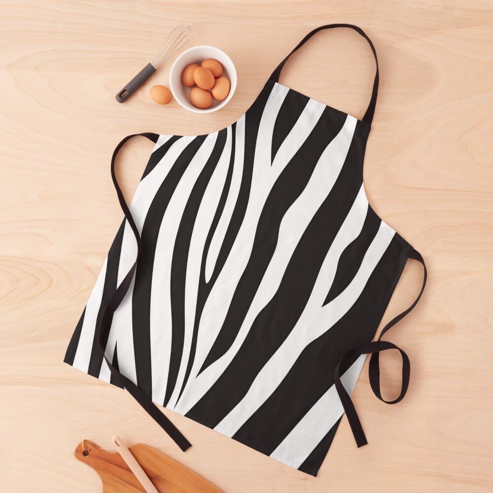 Zebra Apron