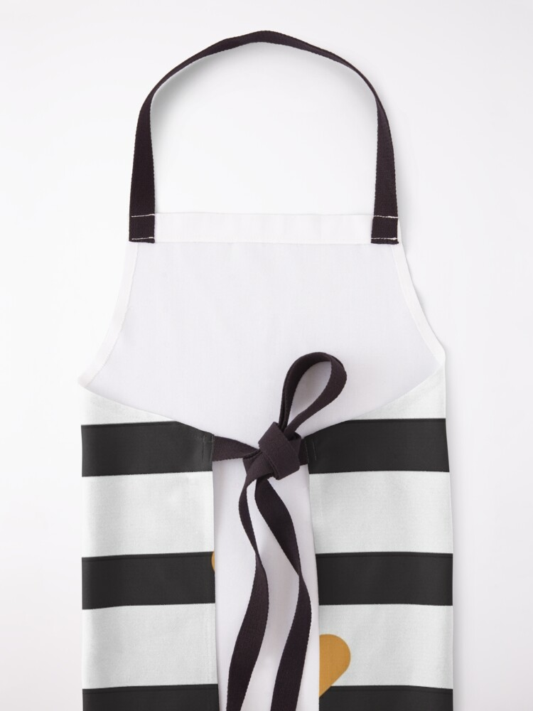 Alternate view of  Hearts And Stripes Apron