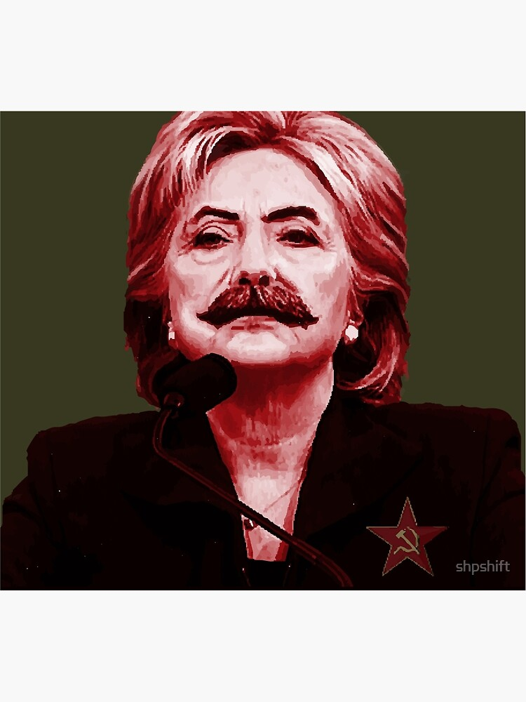 Hillary Stalin by shpshift