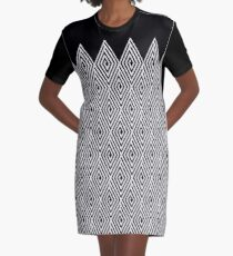 Zigzag Tribal pattern  Graphic T-Shirt Dress