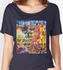 One Hug a Day Keeps the Doctor Away Women's Relaxed Fit T-Shirt