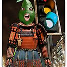Avocado Samurai Traffic Lights by JoelCortez