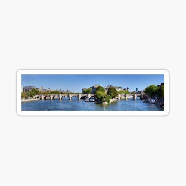 Pont Neuf Paris 03 Sticker