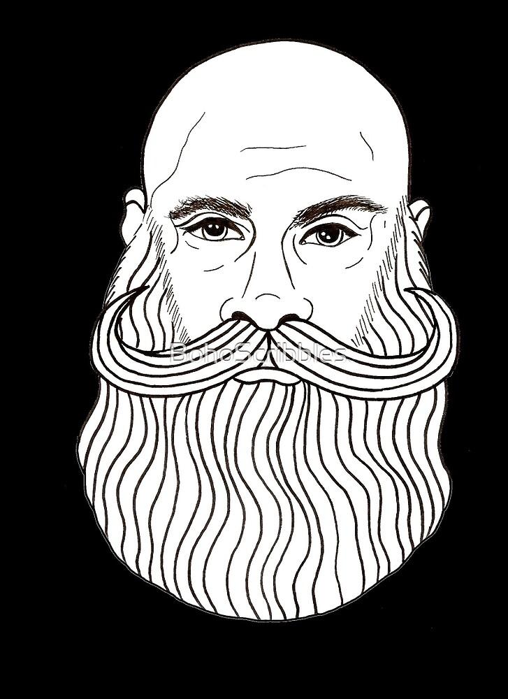 Beard competition winner!  by BohoScribbles