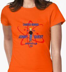 Jonny Quest Adventure Club 1964 Womens Fitted T-Shirt