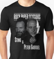 sting and peter gabriel style 2016 T-Shirt