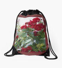 Red Roses For You! Drawstring Bag