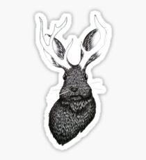 The Jackalope Sticker