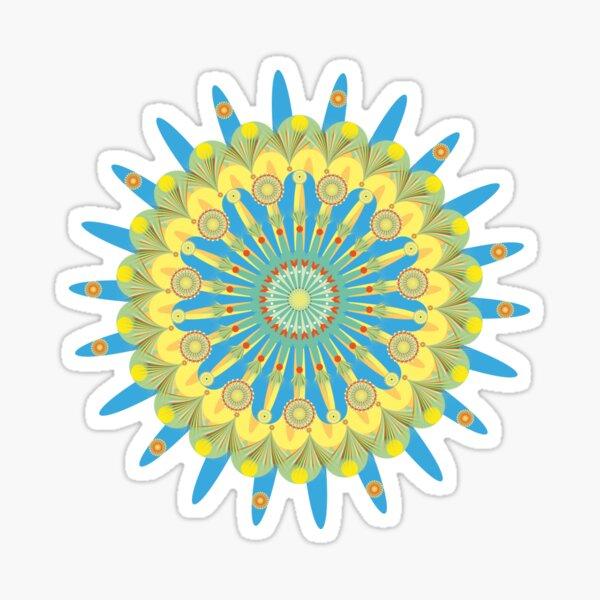 Floral Festival in the Universe Sticker