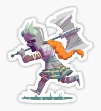 Daring Viking Sticker