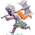 Daring Viking by Kyle Armstrong