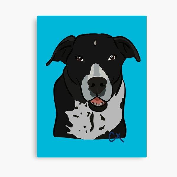 Collie Puppy Canvas Print