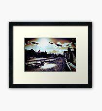 Old Street New Sun Framed Print