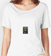 Mona Lisa's Mask Women's Relaxed Fit T-Shirt