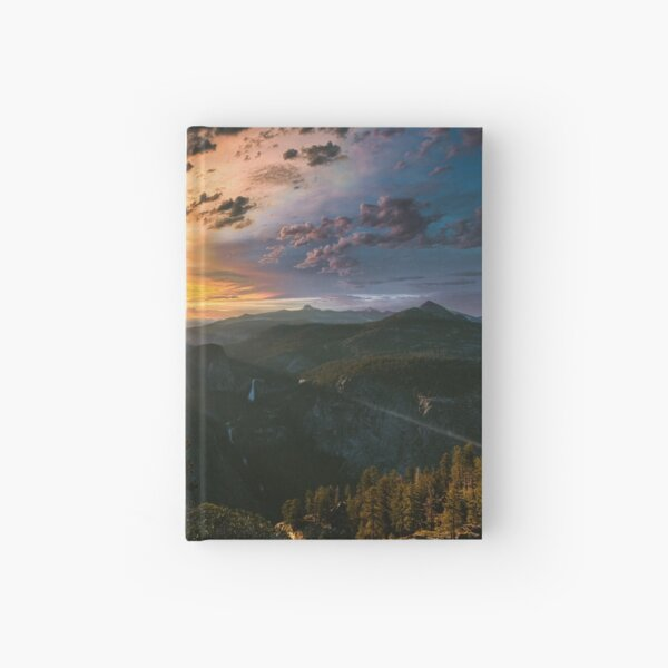 Glacier Point Sunrise Hardcover Journal