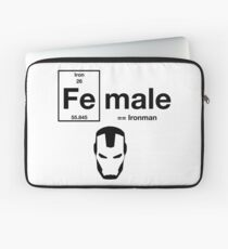 Female is ironman Laptop Sleeve