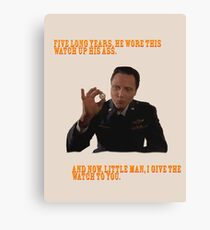 The Watch - Pulp Fiction Canvas Print