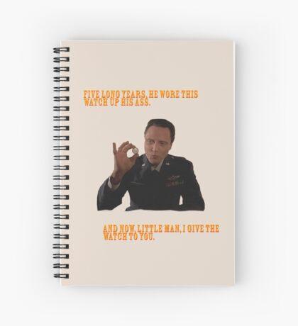 El Reloj - Pulp Fiction Cuaderno de espiral