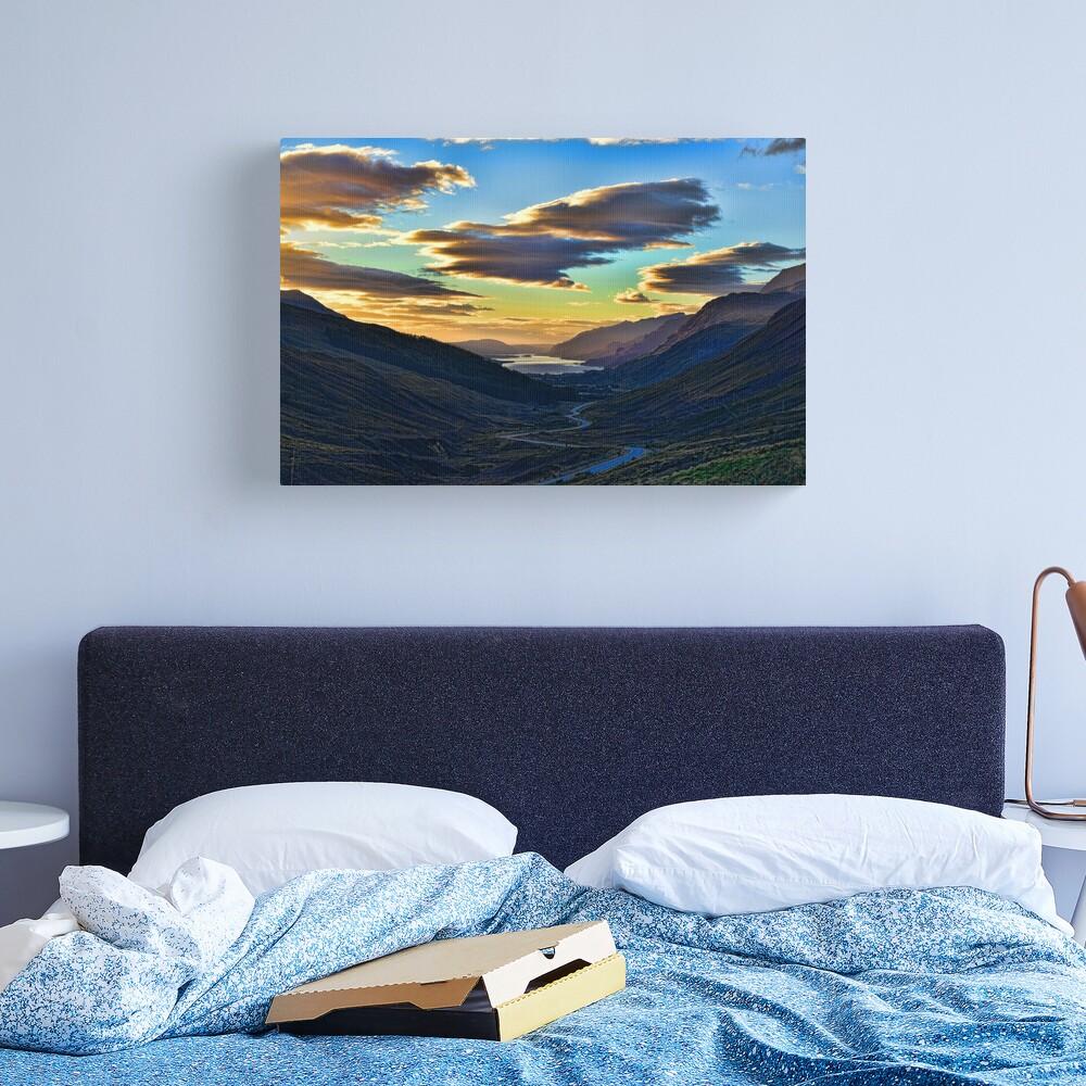 Looking West to Loch Maree-Scotland Canvas Print