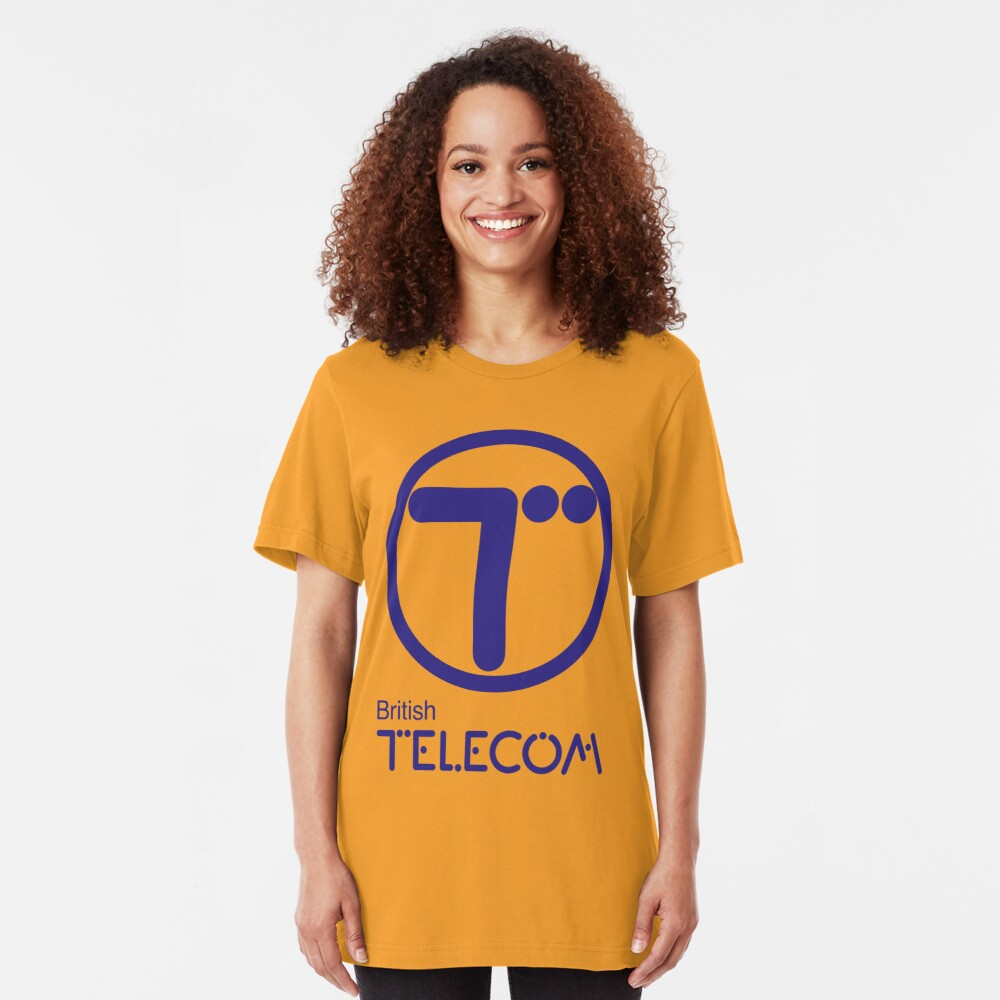 NDVH British Telecom Slim Fit T-Shirt