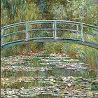 Claude Monet - Japanese Bridge at Giverny by TexasBarFight