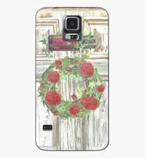 Essential Oils Rose Wreath Case/Skin for Samsung Galaxy