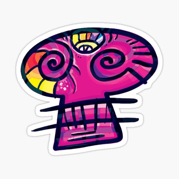 Original Cozmic Skull Sticker