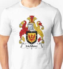 McAllister Coat of Arms / McAllister Family Crest T-Shirt