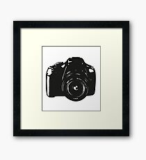 A Camera is a Way to Capture Moments Forever Framed Print