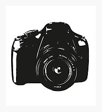 A Camera is a Way to Capture Moments Forever Photographic Print