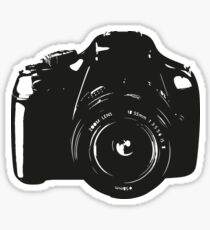 A Camera is a Way to Capture Moments Forever Sticker