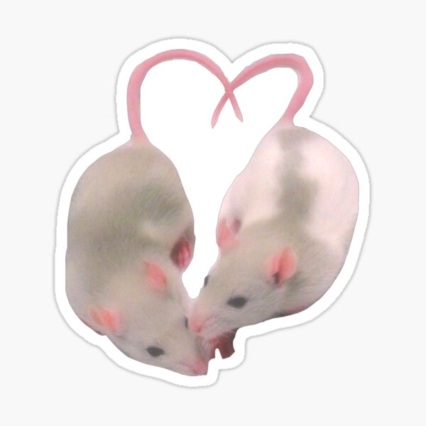 Loving Mice Sticker