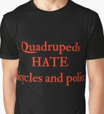 Quadruped Opinions Graphic T-Shirt