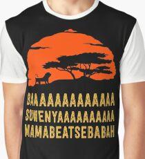 BAAAAAAAAAAAAA SOWENYAAAAAAAAAA MAMABEATSEBABAH African Lion T Shirt Graphic T-Shirt