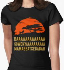 BAAAAAAAAAAAAA SOWENYAAAAAAAAAA MAMABEATSEBABAH African Lion T Shirt T-Shirt
