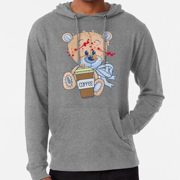 Coffee zombie bear Lightweight Hoodie