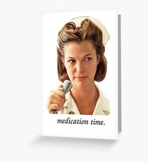 Medication Time Greeting Card