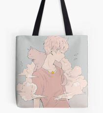 dozing off. Tote Bag
