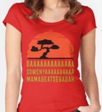 BAAAAAAAAAAAAA SOWENYAAAAAAAAAA MAMABEATSEBABAH Tee Shirt Women's Fitted Scoop T-Shirt